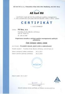 CSN OHSAS 1800:2008